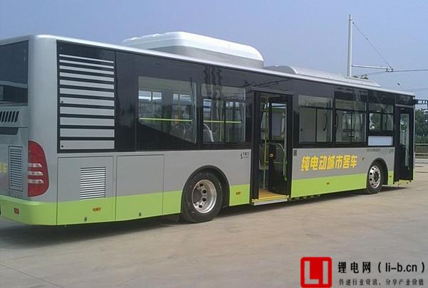 纯锂电池公交车