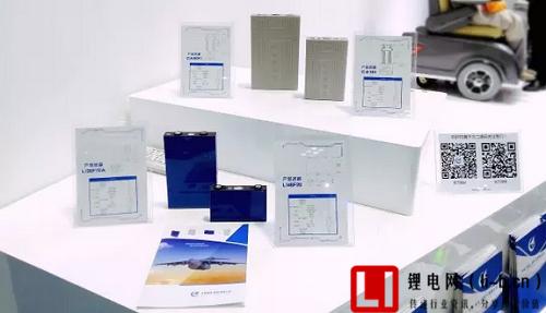 重庆高交会中航锂电展出产品