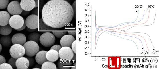 锂钒氧化物SEM图片