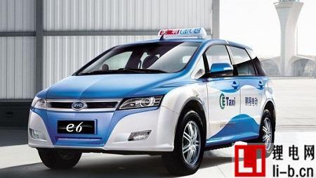 太原出租车比亚迪E6
