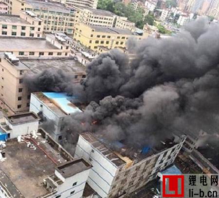 赣锋锂业子公司美拜电子老化车间起火爆炸