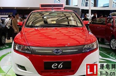 比亚迪电动车2016年上半年销量