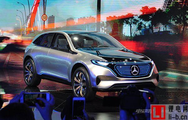 从入门级开始,疑似奔驰EQA概念车9月发布