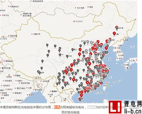 加速扩建,特斯拉公布今年下半年在中国超级充电站建设计划
