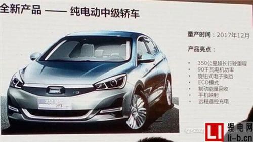 观致新车计划 年底将推纯电紧凑级轿车
