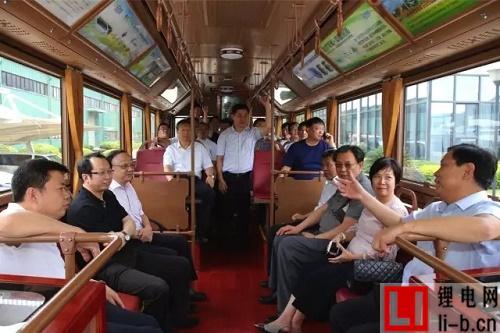 山西省副省长王一新莅临银隆新能源参观考察