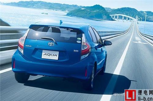 外观小幅调整 丰田AQUA(Prius c)官图发布