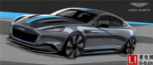 阿斯顿·马丁宣布在 2019 年推出全电动汽车 Rapid E