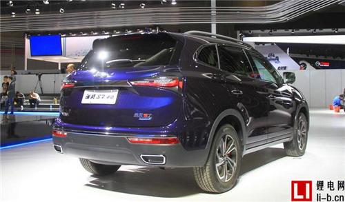 江淮瑞风S7混动版或年底发布 明年中上市