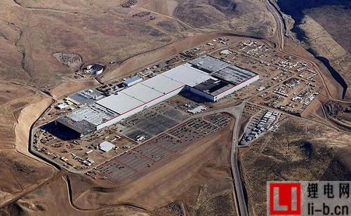 特斯拉超级工厂产能仅为中国新增电池工厂三成