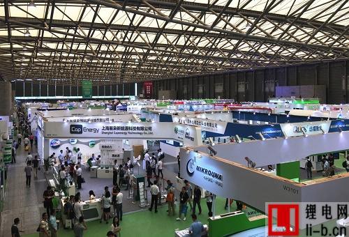第八届中国(上海)国际锂电工业展览会现场