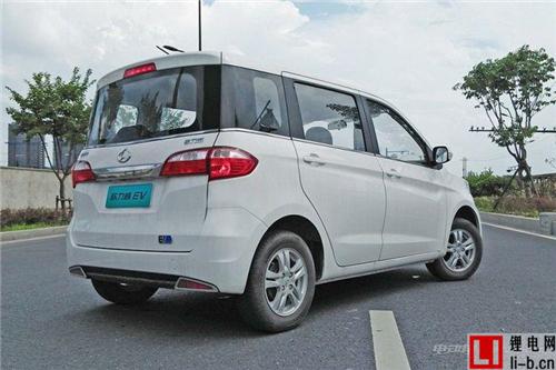 补贴前售15.80万元 长安欧力威EV上市