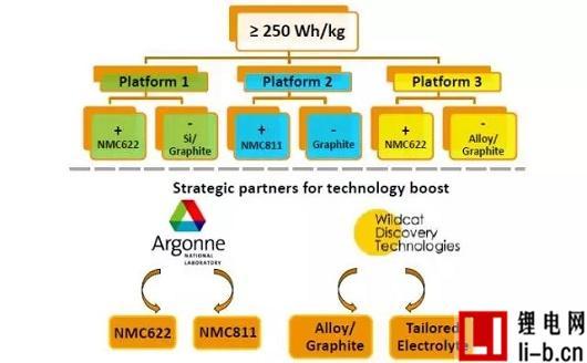 图5 多种技术平台可选