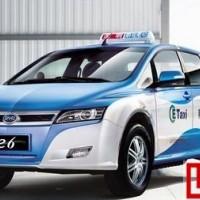 太原出租车有望年内替换成比亚迪E6纯电动车