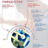 2014年中国锂电池PACK企业排行榜前10