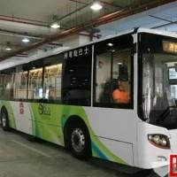 澳门推五洲龙电动巴士实验 市民可免费试乘