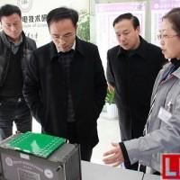 南通高新区领导调研江苏华东锂电技术研究院