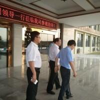 徐州矿务集团莅临江西正拓新能源参观考察