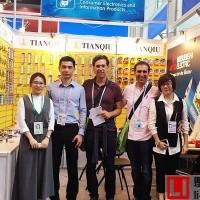 天球电池系列产品亮相第120届广交会