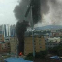 东莞锂威实验楼发生火灾,无人员伤亡