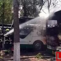 北京发生大面积新能源汽车起火事故,损失惨重