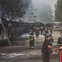 安凯客车回应北京蟹岛电动大巴起火事件:非电池爆炸原因