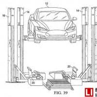特斯拉电池交换机专利—15分钟内更换动力电池