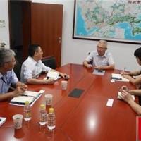 市安委办副主任丁海成约谈深圳市比亚迪锂电池有限公司负责人
