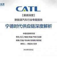 重磅好文!超100页PPT深度剖析宁德时代(CATL)供应链