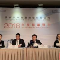 新能源汽车销量突破2万 广汽集团2019年目标增长8%