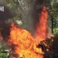 """锂电池又""""惹祸""""了 南京一网约车起火1死1伤!"""