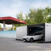 加油站也是换电站 中石化与蔚来合作布局5000座充换电站